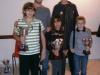 Da sinista. In primo piano: Sirio Pagni, Viola Farfallini, Pietro Cannoni; alle loro spalle: Diego Rogai e Niccolò Giorgetti